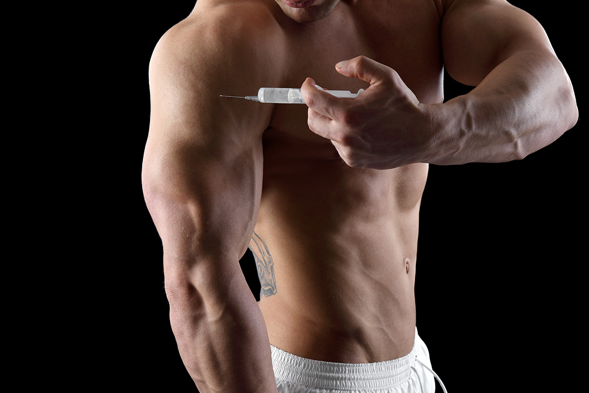 Injectable HGH for men
